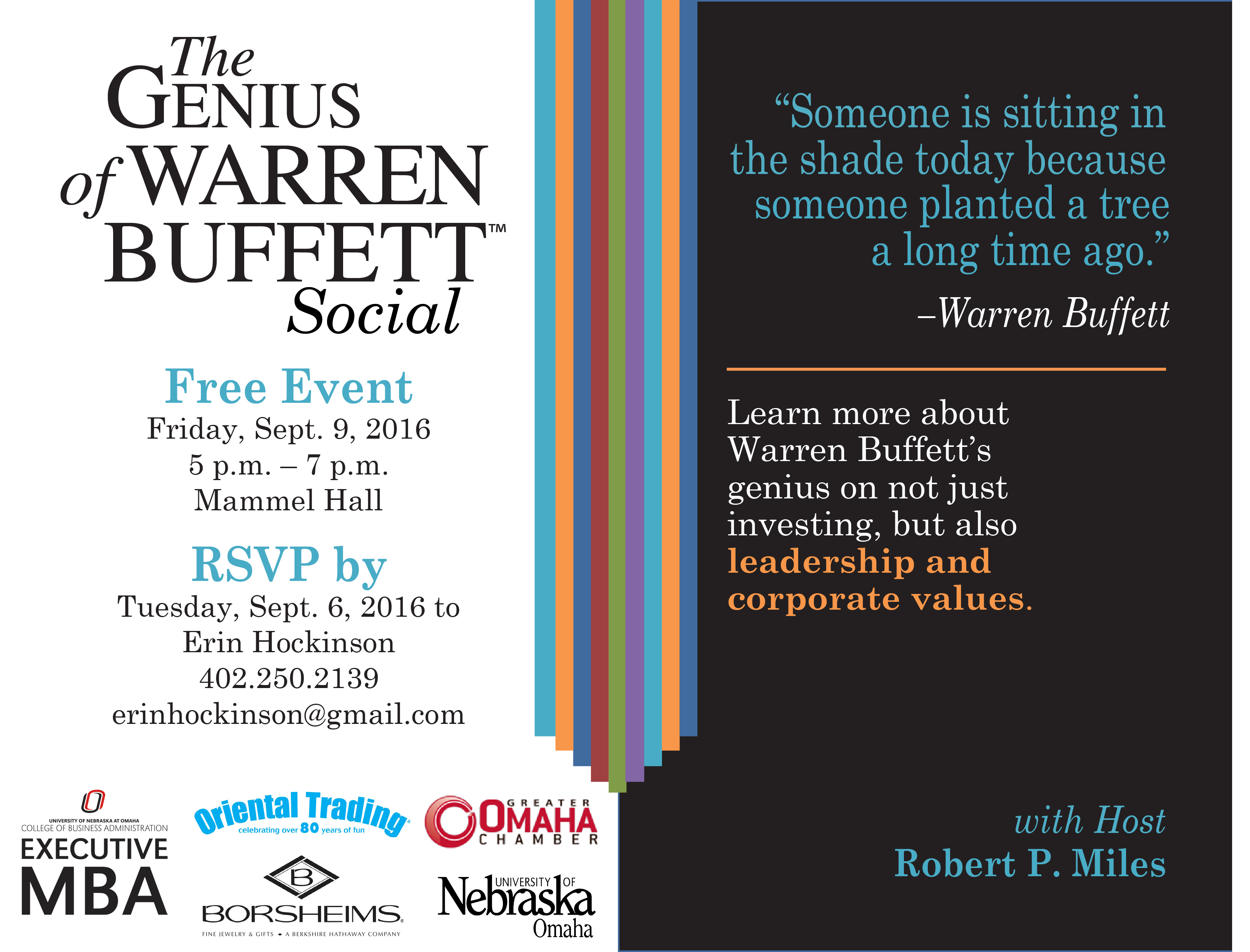 Genius of Warren Buffett Social